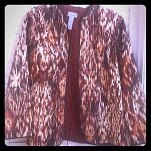 Catherines Brand New Reversible Jacket *NEW*
